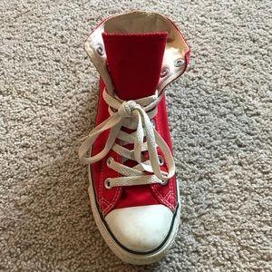 Converse Red High Top Sneaker